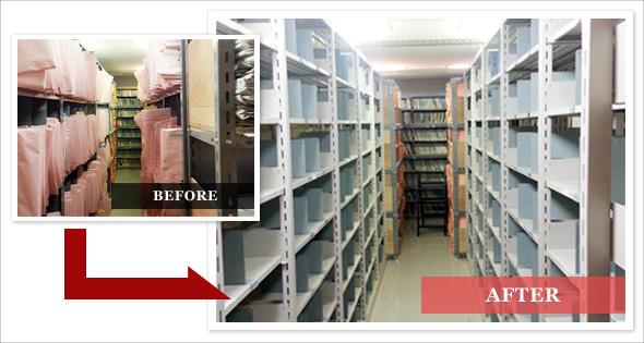 日本ファイリング 複柱式書架