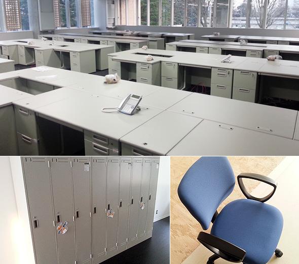 PLUS製オフィス家具